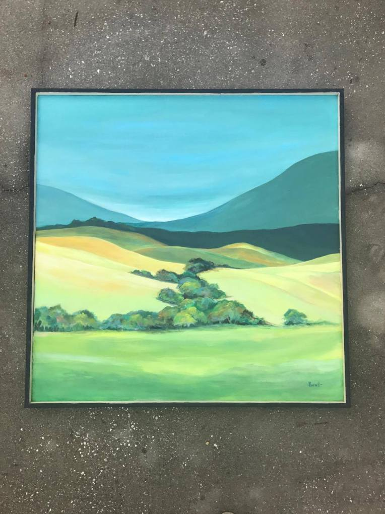estate sale landscape art