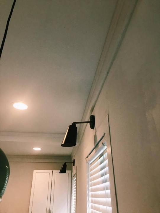 one room challenge lighting